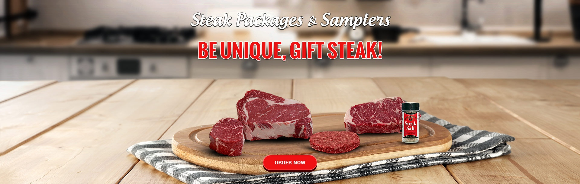Steak Packages & Samplers