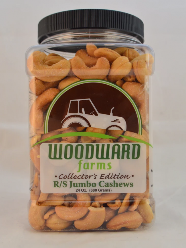 Picture Woodward Farms Jumbo Cashews 24oz