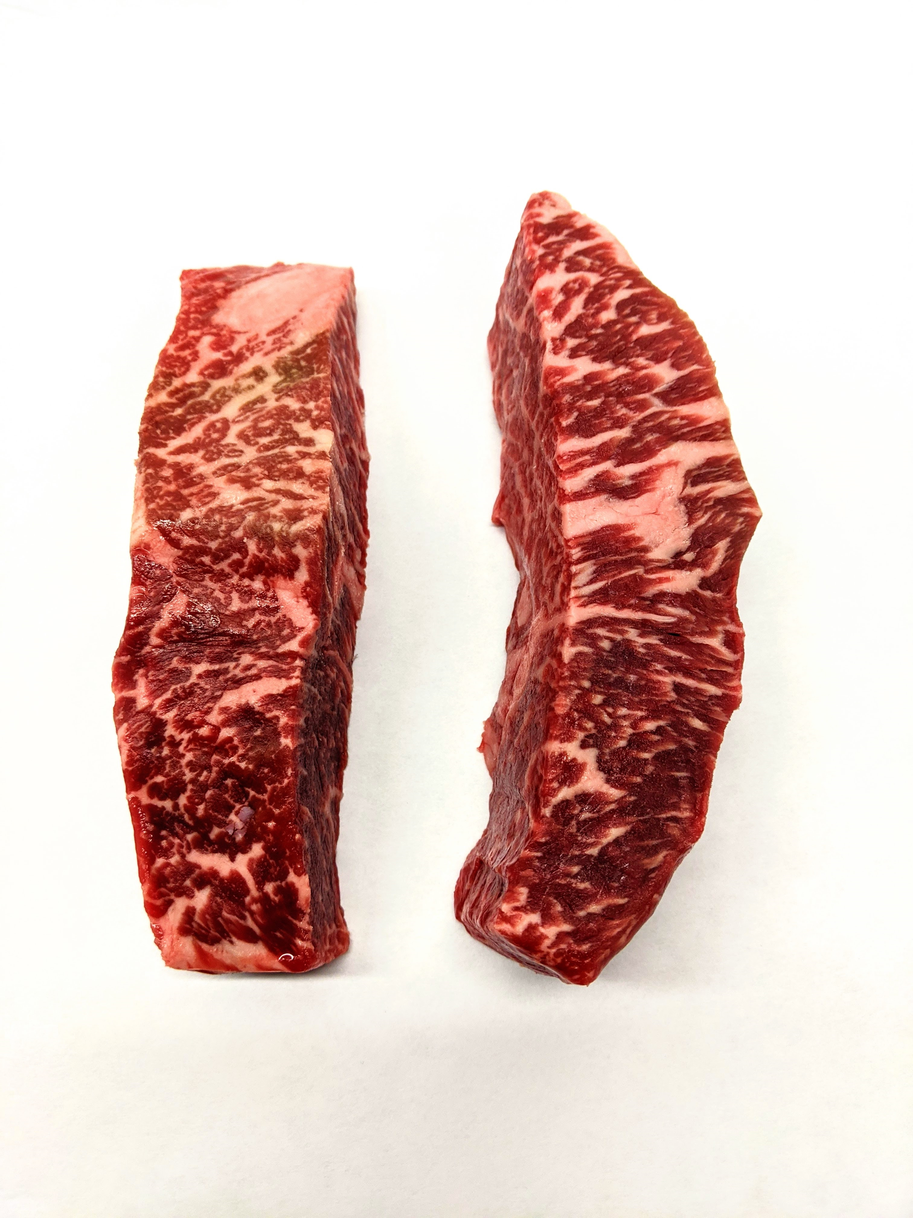 Picture 5pc 56 Day Dry-Aged Wagyu End Cut New York Strip